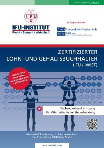 Zertifizierter Lohn- und Gehaltsbuchhalter (IFU / IWIST) - MCGB GmbH