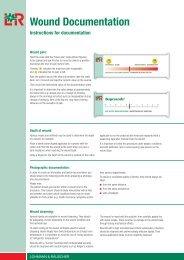 Wound Documentation Instructions for documentation