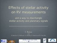 Disentangling Stellar Activity and Planetary Signals: Isabelle Boisse