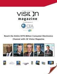 Reach the Entire $170-Billion Consumer Electronics Channel ... - CEA