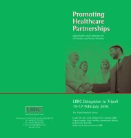 Promoting Healthcare Partnerships - Association of British ...