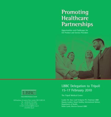 Promoting Healthcare Partnerships - Association of British ...