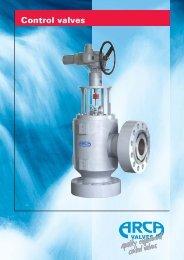 Control valves - Von Rohr ARCA BV