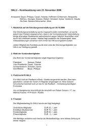 HALU – Komiteesitzung vom 23. November 2006 - Heidelberg ...