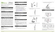 Package Insert - BTNX Inc