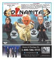 MARZO, 2013 Ed. 17 Titulares - Dinamita Magazine