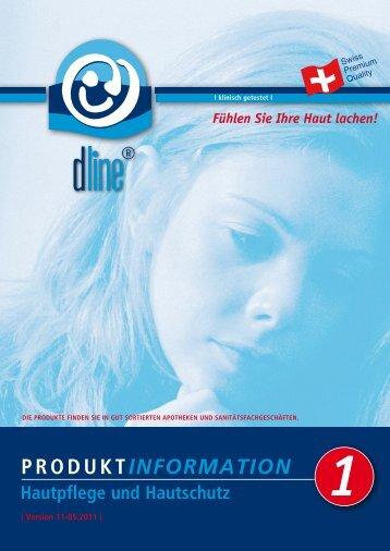dline ® Prospekt Produktinformationen