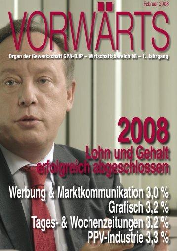 2008 Lohn und Gehalt erfolgreich abgeschlossen ...  - br-dzi.at