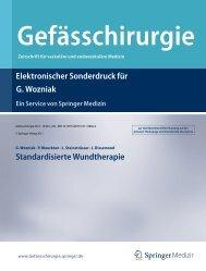 Standardisierte Wundtherapie - Knappschaftskrankenhaus Bottrop