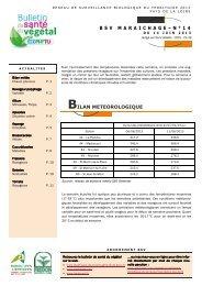 BSV 2013 - Chambre régionale d'agriculture des Pays de la Loire