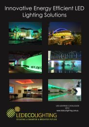 Innovative Energy Efficient LED Lighting Solutions - LED ECO ...