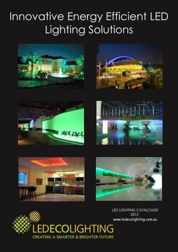 Innovative Energy Efficient LED Lighting Solutions - LED ECO ...