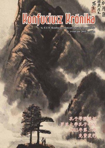 letöltés - ELTE Konfuciusz Intézet