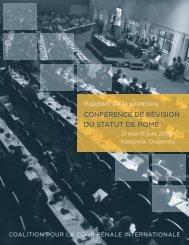 conférence de révision du statut de rome - Coalition for the ...