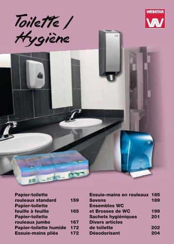 Papier-toilette rouleaux standard 159 Papier-toilette feuille à feuille ...
