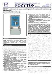 EQABP - Zakład Elektronicznych Urządzeń Pomiarowych POZYTON ...