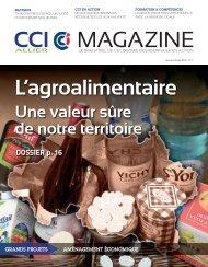 CCI Allier Magazine n°7 - CCI Moulins Vichy