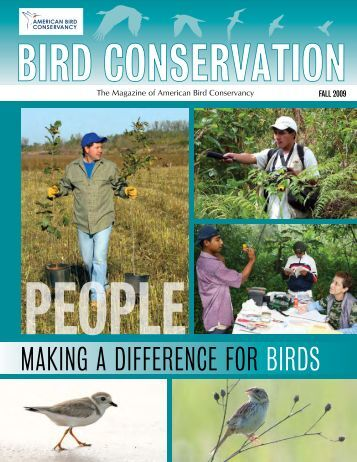 Fall 2009: Making a Difference for Birds - American Bird Conservancy
