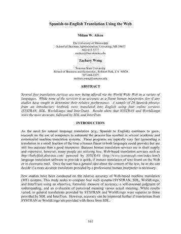 Wemit web mining for translation for Translate my document to spanish