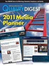 2011 Media Planner - Quality Digest