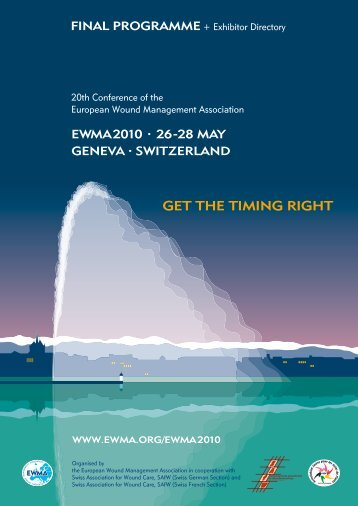 GET THE TIMING RIGHT - EWMA 2010