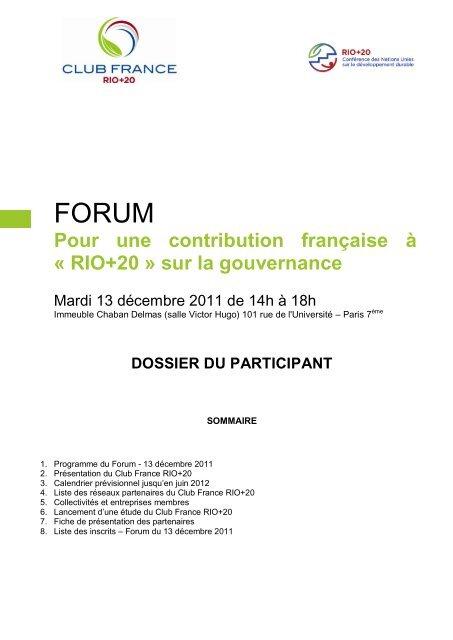 Julien Delmas Calendrier.Dossier Des Participants Comita C 21