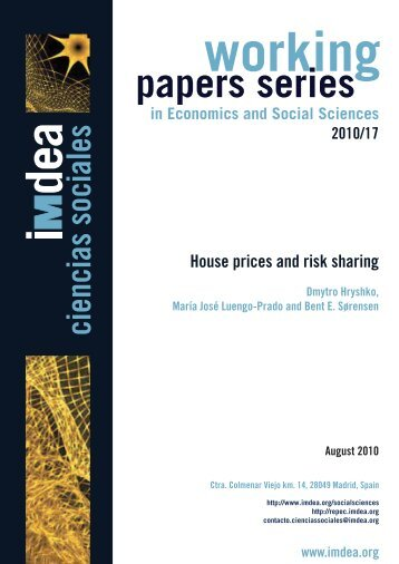 Download full text - IMDEA Working Papers in Economics and ...