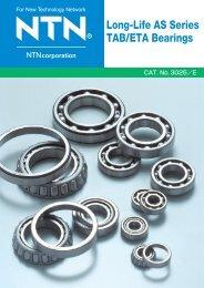 Long-Life AS Series TAB/ETA Bearings - NTN Bearing Corporation ...