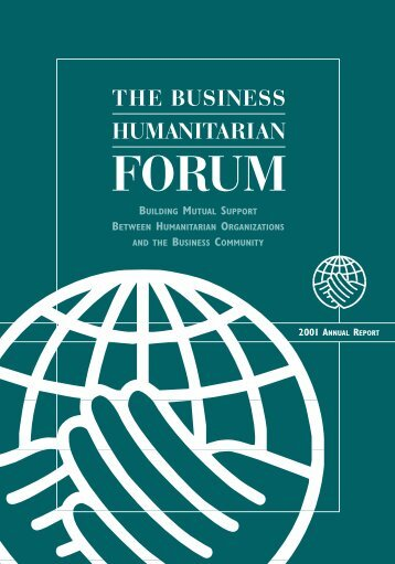 Annual Report - Business Humanitarian Forum