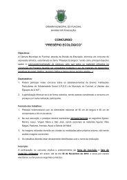 8º concurso de expressão plástica - Câmara Municipal do Funchal