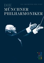 '12 '13 - Münchner Philharmoniker