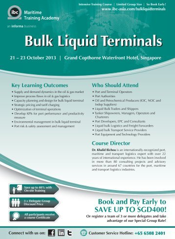 Bulk Liquid Terminals