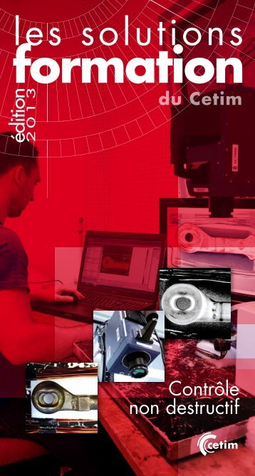 Catalogue CND 2013 (1209-005) - Cetim