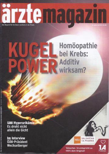 Page 1 öopathie Krebs: i iv k am? U Z t h .w vl D.. S t n e A 1 n a t r a ...