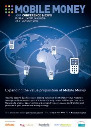Expanding the value proposition of Mobile Money