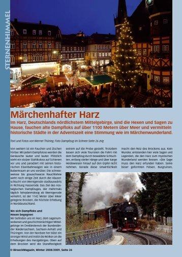 Märchenhafter Harz - Birseck Magazin