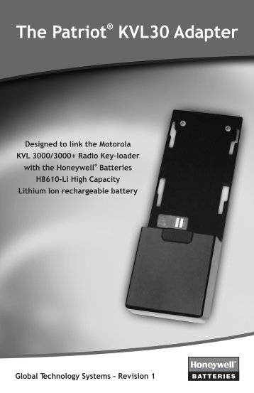 The Patriot KVL30 Adapter - Global Technology Systems