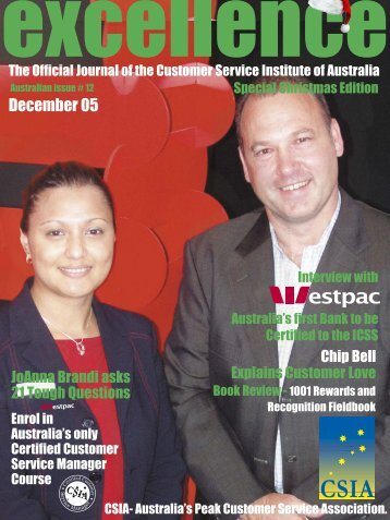 Issue 12 - Customer Service Institute of Australia