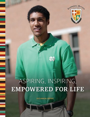 2011-2012 Annual Report - Cardinal Ritter College Preparatory ...