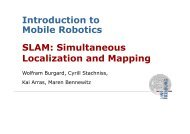 SLAM: Simultaneous Localization and Mapping Introduction to ...