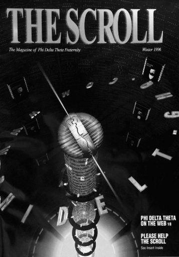 1996 Volume 119 No 1–4 - Phi Delta Theta Scroll Archive