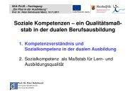 Präsentation von Prof. Peter Dehnbostel - Netzwerk für Demokratie ...