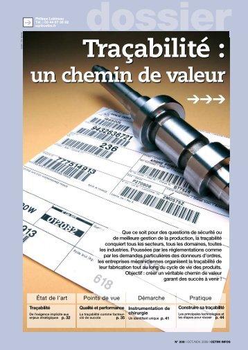 CI Dossier traçabilité - Cetim