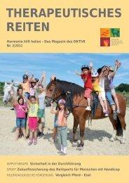 Das Magazin des DKThR Nr. 2|2011 - Deutsches Kuratorium für ...