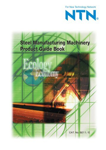 Steel Manufacturing Machinery Product Guide Book Steel ...