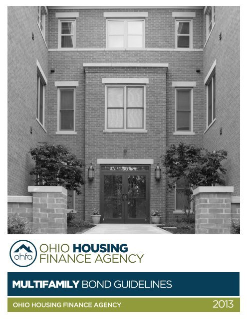 Multifamily Bond Guidelines - Ohio Housing Finance Agency