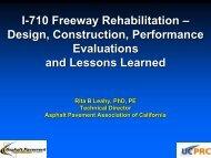 I-710 Freeway Rehabilitation – Design, Construction ... - AMAP