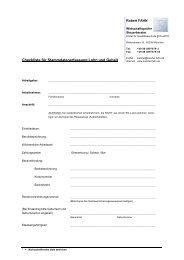 Checkliste für Stammdatenerfassung Lohn und Gehalt
