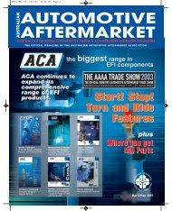 APRIL/MAY 03 - Australian Automotive Aftermarket Magazine