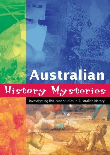 1 - Australian History Mysteries